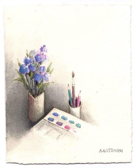 Annapia Antonini - Iris et aquarelles
