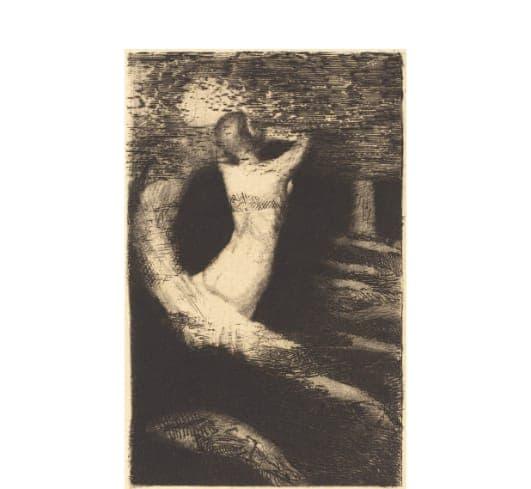 Odilon Redon Passage d'une âme