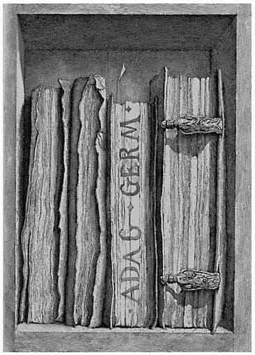 Érik Desmazières - Fragment de la bibliothèque de Sir T.B. (II)