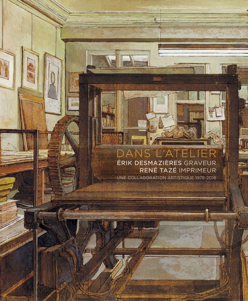 Érik Desmazières - Dans l'atelier