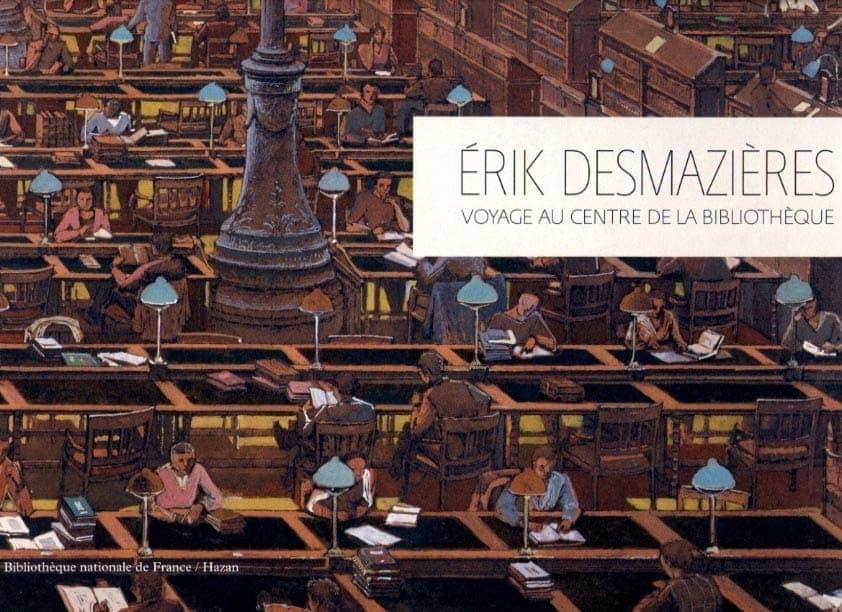 Érik Desmazières - Voyage au centre de la bibliothèque
