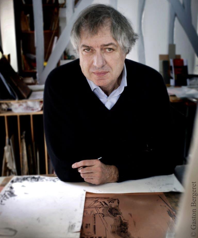 Portrait picture of Érik Desmazières
