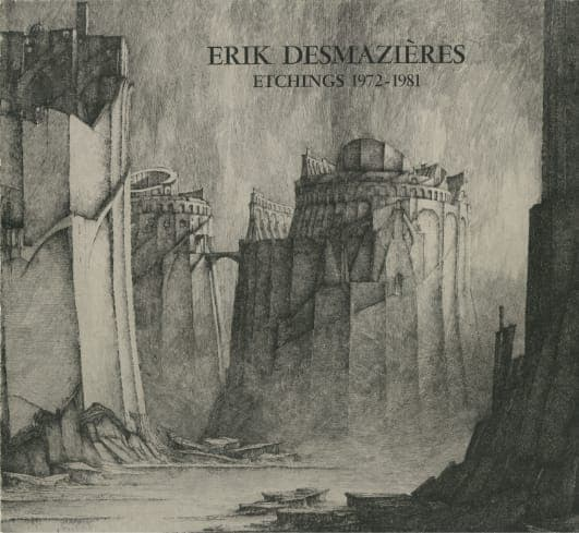 Érik Desmazières - Volume 1 Catalogue