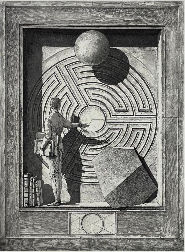 Erik Desmaziere - Labyrinthe II