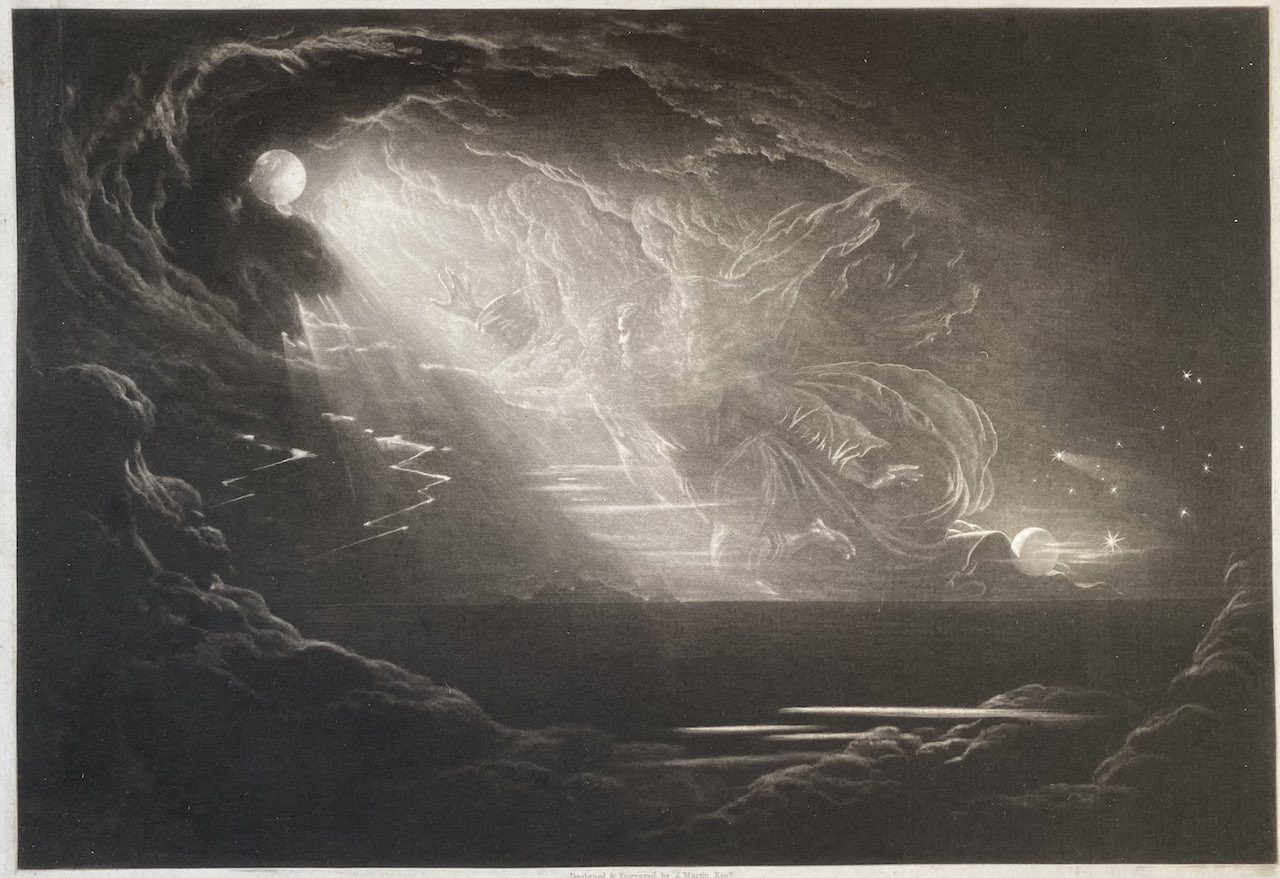John Martin - Creation of Light