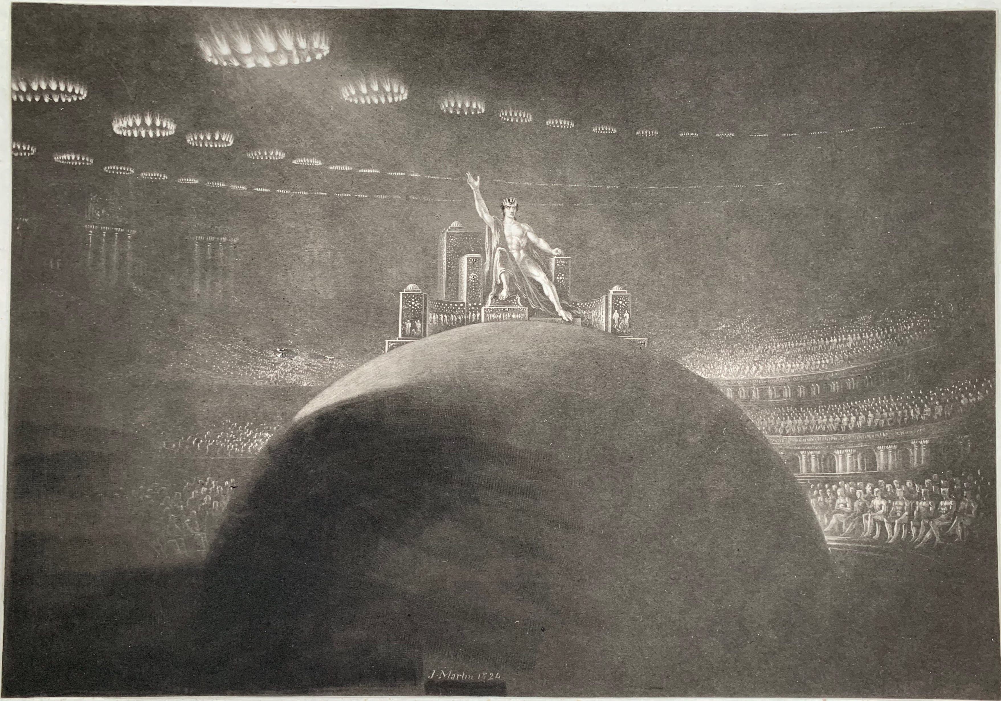 John Martin - Satan presiding at the Infernal Council