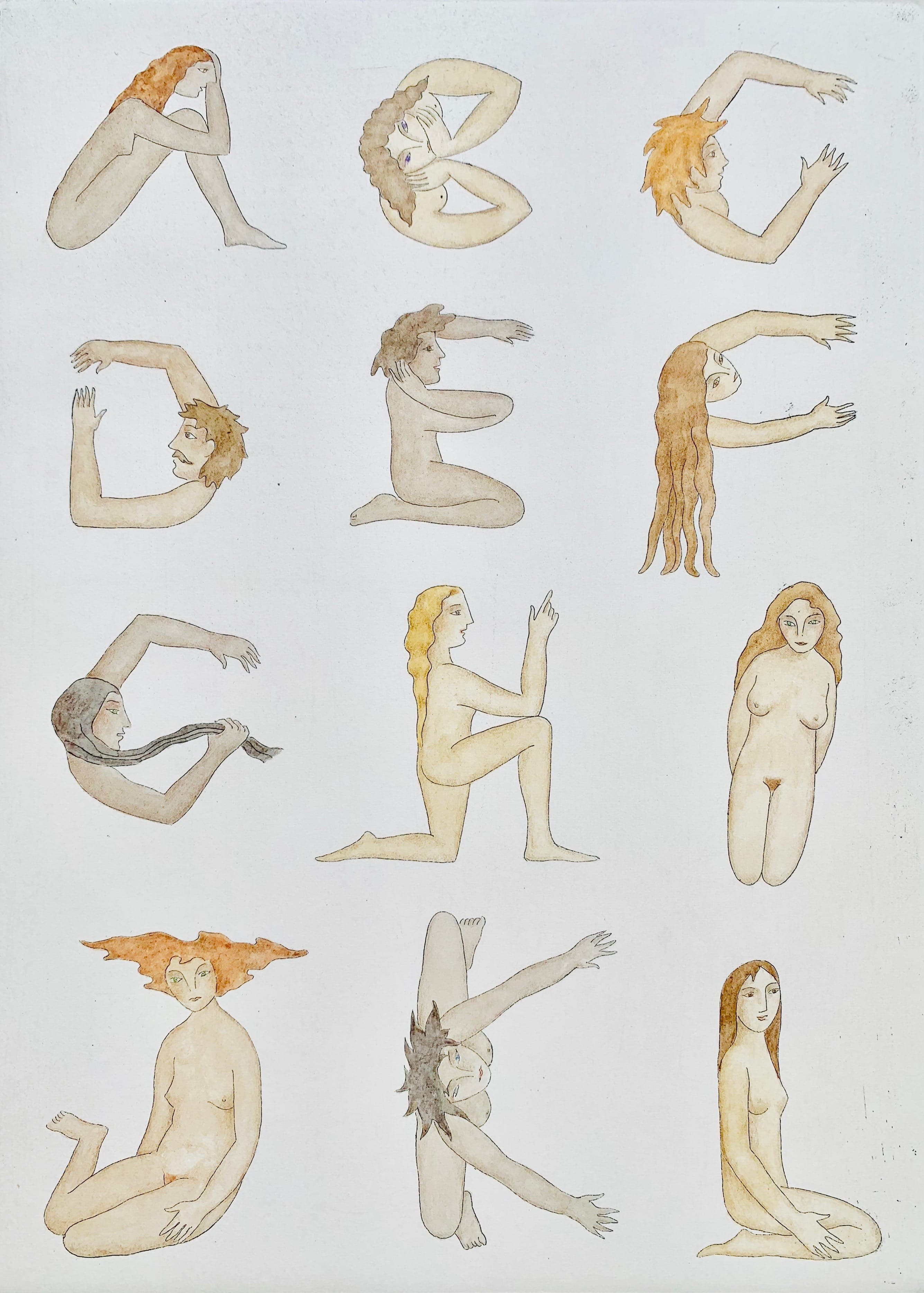 Julie Maas - Alphabet A-L