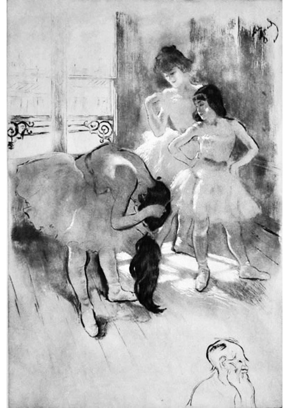 Louis Legrand - Devant la fenêtre
