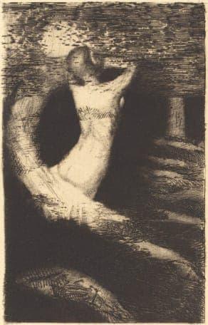 Odilon Redon - Passage d'une âme