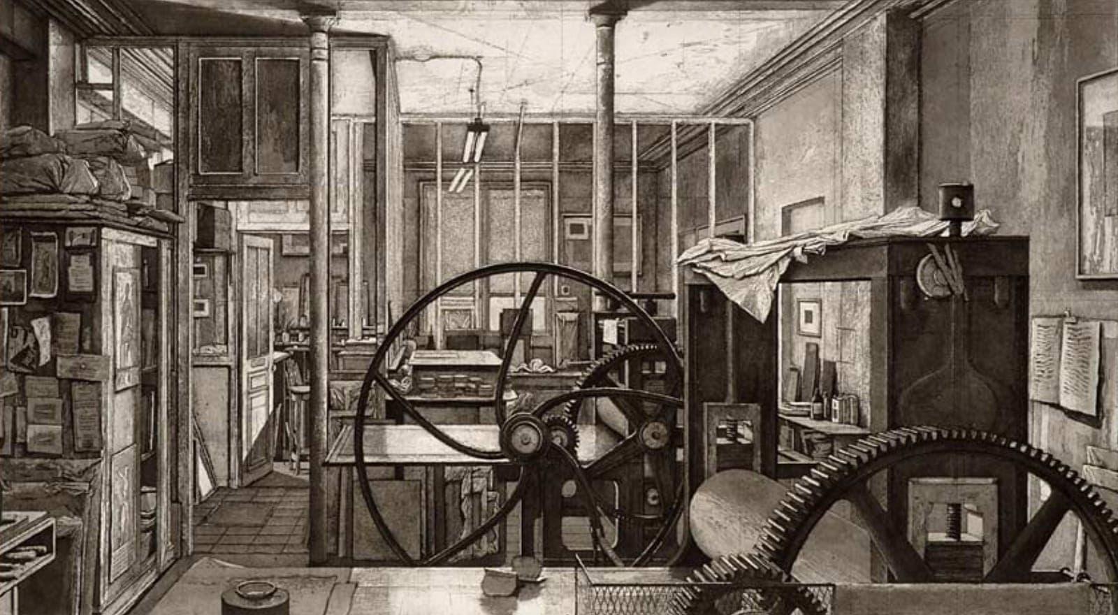 Aquatint Printmaking